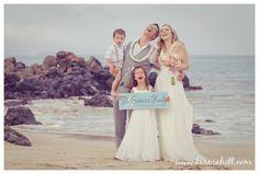 family destination wedding, Hawaii beach wedding, Maui wedding created by Simple Maui Wedding #MauiWeddings