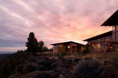 Oregon wood and glass western