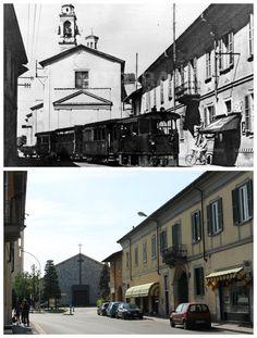 """Nuove prospettive a Sedriano: anni '40 - 2013 (45°29'14.81""""N 8°58'07.33""""E 45.487426,8.96866)"""