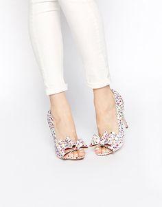 Image 1 ASOS POPPY Chaussures peep toes à talons hauts
