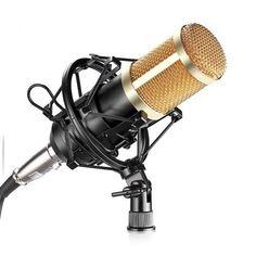 Neewer NW800 Studio Microphone+Shock Mount+Cable(Black)  #Neewer