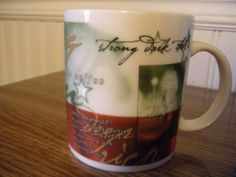 Starbucks Coffee Mug Rare Italian Roast 1998, Black Mermaid
