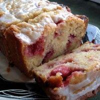 Strawberry Lemon Yogurt Cake