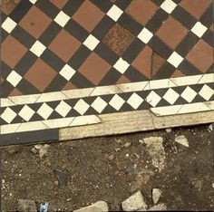Boyle Family - Tiled Path Study with Broken Masonry. This is made from painted fibreglass.
