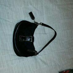 Authentic Coach purse Small black coach bag Coach Bags