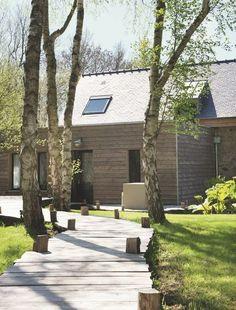 Une cabane à louer dans la campagne - Nouvelle déco bretonne à Paimpol - CôtéMaison.fr