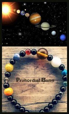 SOLAR SYSTEM bracelet  etsy.com/shop/primordialbang