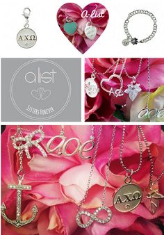 ♕♛ WELCOME NEW sorority sugar sweet elite sponsor ~ A•LIST GREEK!!!!! ♕♛ founded and operated by sorority women, new A•LIST GREEK specializes in gorgeous sparkle & shine for sorority chapters and big/little gifties!! they are all about strengthening the bond between sisterhood and style. i ❤ their charming jewelry sugar for chic greeks! …and they have a campus rep program too! ♕♛ find the A•LIST GREEK AD on my blog sidebar and at:  http://www.alistgreek.com/