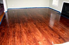 PLYWOOD FLOORS - OMG!!  I think I may have just found my solution to this nasty carpet in my house!!!