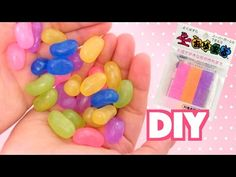 【DIY】おゆまるでゼリービーンズアクセサリー♡スイーツデコ - YouTube