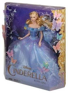 Cinderella Barbie 2015 Movie Dolls Released - created by Mattel for Disney, there are two Ella dolls as well as a fabulous Fairy Godmother and Stepmother Disney Barbie Dolls, Disney Princess Dolls, Barbie Toys, Barbie I, Doll Toys, Aladdin Princess, Princess Aurora, Princess Bubblegum, Disney Princesses