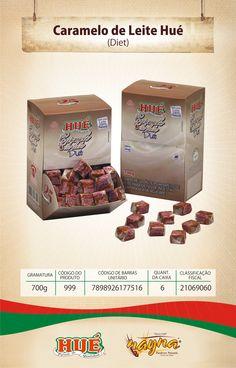 Caramelo de Leite Diet Hué Displ 700gr