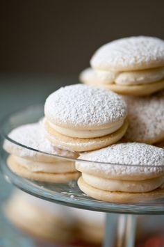 Coconut passion fruit cookies