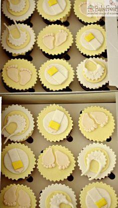 BabyShower theme cupcakes