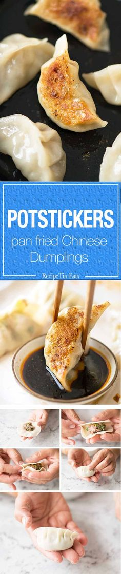 Time to get your dumpling game on! PS Pleating is optional, plenty of restaurants skip it.
