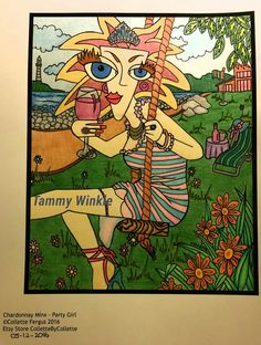 Chardonnay Minx - Party Girl
