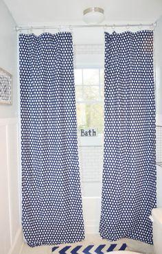 Diy Shower Curtain From A Twin Sheet Diy Shower Curtain Shower