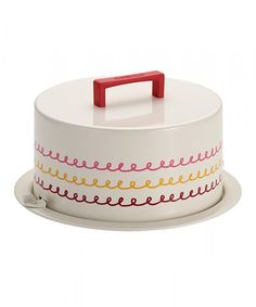 This Swirl Cake Carrier by Cake Boss is perfect! #zulilyfinds