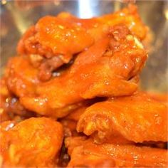 Buffalo Chicken Wing Sauce - Allrecipes.com.  My family LOVES this recipe. Have made it a couple times and they devour it all.