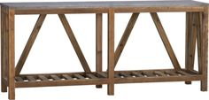 Bluestone Console Table  | Crate and Barrel:  have to find a place for this somewhere in our home.
