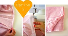 Tutorial for muslin swaddle blankets (which can be pretty pricey if you buy them already made.)