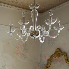Italian Glass Chandelier - View All Lighting - Lighting