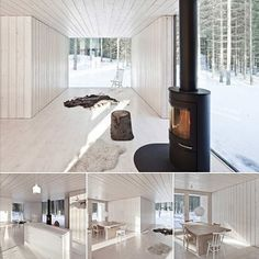White Rustic Interior Design