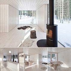 White Rustic Interior Design