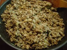 Jauheliharieskat uunissa 6 Fried Rice, Grains, Ethnic Recipes, Food, Meal, Essen, Hoods, Nasi Goreng, Meals