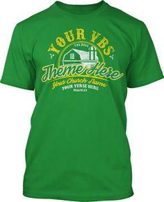 Barnyard Roundup VBS 2016 T-Shirt Design #16303
