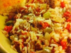 Slow-Cooker Cajun Dirty Rice Recipe. Turned out pretty good - but I didn't have instant rice, so I did 4 hrs on high. Rice was pretty sticky and fell apart, but the taste was great