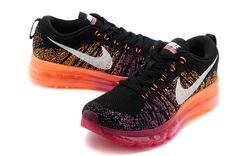 sports shoes de290 16570 Nike Flyknit Air Max Femme Chaussures Noir Rose Nike Shoes For Sale, Nike  Shoes Cheap