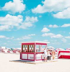 Cabana: Minimalist and Bold Landscapes of Miami Beach by David Behar Photography Series, Fine Art Photography, Gallon Of Paint, Beach Cabana, Architecture Images, Home Improvement Projects, Miami Beach, Marketing Digital, Summer Vibes