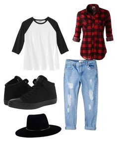 """""""Boyfriendjeans"""" by lejlamahmutovic on Polyvore featuring MANGO, LE3NO, Converse and Zimmermann"""