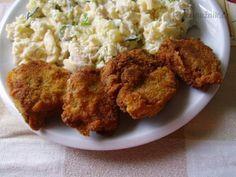 Řízečky (medailonky) z masové konzervy Meat, Chicken, Food, Essen, Meals, Yemek, Eten, Cubs
