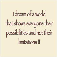 A new world! #goodness #joy #happiness #possibilities #dream #inspiration