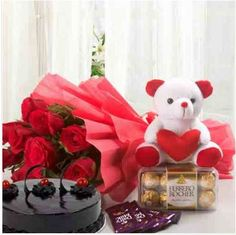 Get Online Flower Delivery in Noida from Giftalove. Send Flowers to Noida with same day and midnight delivery. Florist in Noida offers fresh flower delivery in 3 hrs. Chocolate Truffle Cake, Dairy Milk Chocolate, Chocolate Truffles, Online Birthday Gifts, Online Gifts, Ferrero Rocher Box, Birthday Gift Delivery, Buy Cake, Cake Online