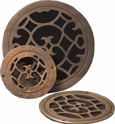 Round Air Vent covers, Round Air Registers, Circular Grill Covers