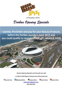 Durban Opening Specials