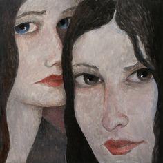 Two Women by Ilir Pojani (US)  Print: $40