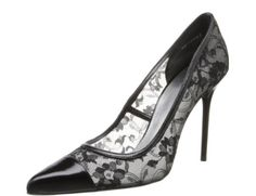 Stuart Weitzman Women's Lace M US >>> Read more at the image link. Stuart Weitzman, Lace Pumps, Shoes Too Big, Bling Shoes, Shoe Boutique, Pump Shoes, Women's Shoes, Black Laces, All About Fashion