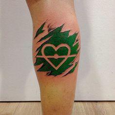 tatuajes de futbol en la pierna con corazon