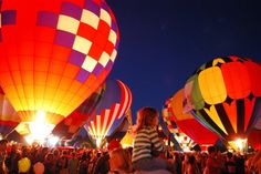 The Balloon Glow in Forest Park, St. Louis