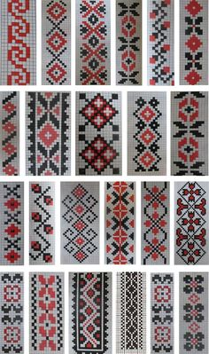cusaturi traditionale romanesti - Google Search Cross Stitch Boarders, Cross Stitch Bookmarks, Cross Stitch Rose, Cross Stitch Flowers, Cross Stitch Designs, Cross Stitching, Cross Stitch Embroidery, Embroidery Patterns, Cross Stitch Patterns