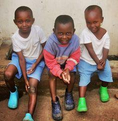 New Shoes #kwizerahope #Rwanda