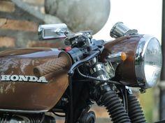 Motos Custom - Motos Customizadas - MOTO.com.br Honda CB 400 ganha customização e vira Café Racer