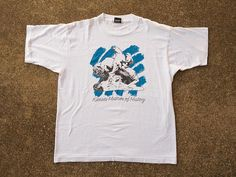 Kansas Museum of History Shirt XL - Vintage Kansas Museum of History T-shirt XL - Great White Buffalo Shirt - Kansas Tourist Shirt Souvenir