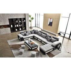Large Sectional, Modern Sectional, Corner Sectional, Sectional Sofas, Best Sectionals, Modular Design, Modular Sofa, Formal Living Rooms, Entertainment Center