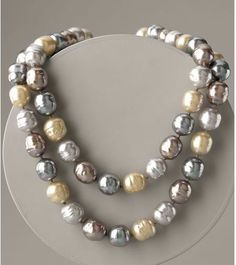 Pearl Jewellery | and Jewellery: Pearl necklaces – the most elegant piece of jewellery ...