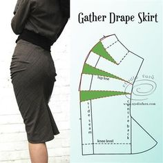 """Sewing Skirts """"LATEST NEWS."""" You'll find all my latest news and media on the home page. Techniques Couture, Sewing Techniques, Skirt Patterns Sewing, Clothing Patterns, Pattern Cutting, Pattern Making, Diy Clothing, Sewing Clothes, Mode Jeans"""